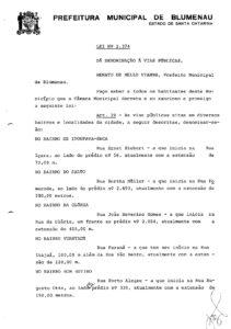 Lei Ordinária nº 2374_1978_ Rua Porto Alegre