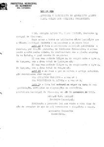 Lei Ordinária nº 696_1955_001